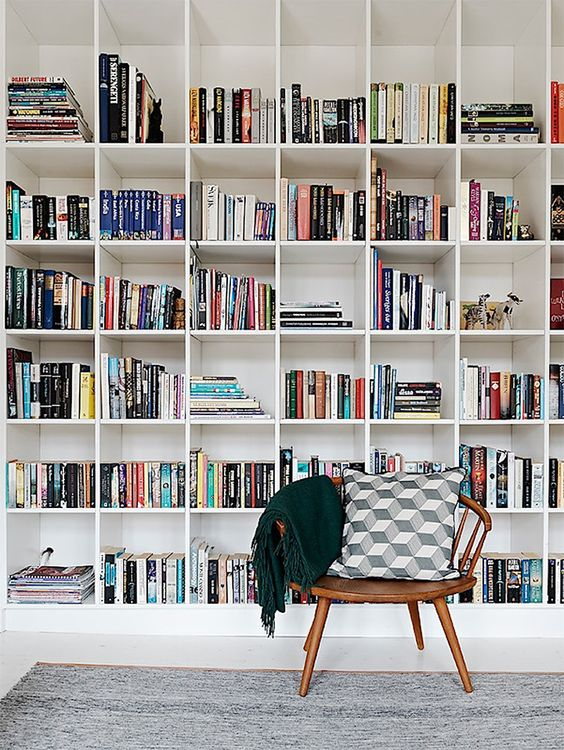 cube shelving for home library