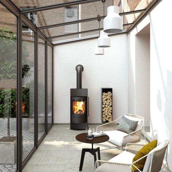 minimalist conservatory