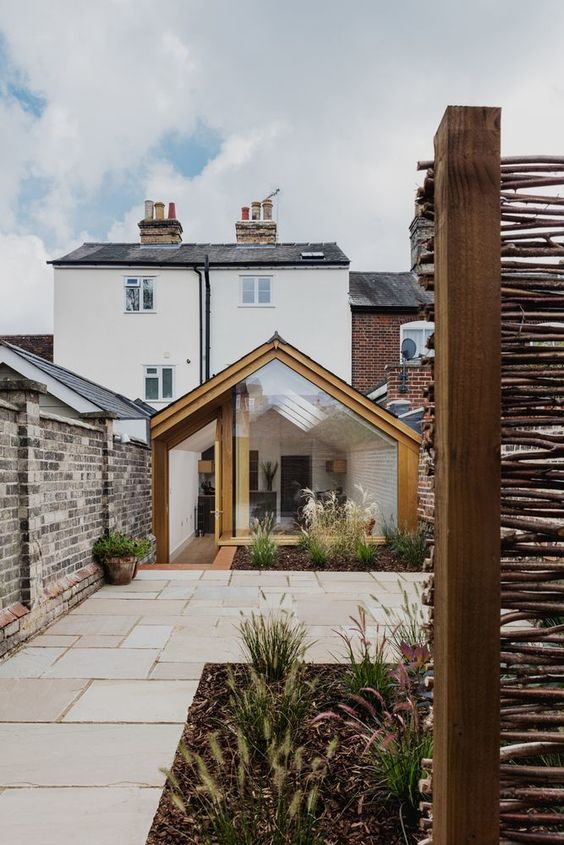 timber conservatory living extension