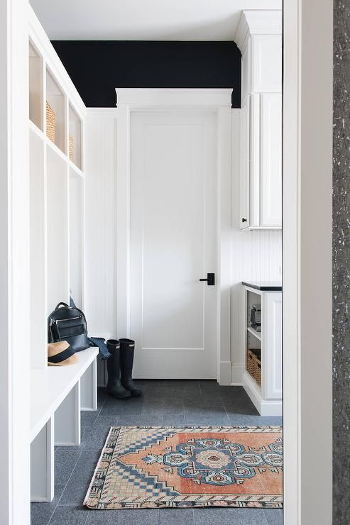 utility room with runner