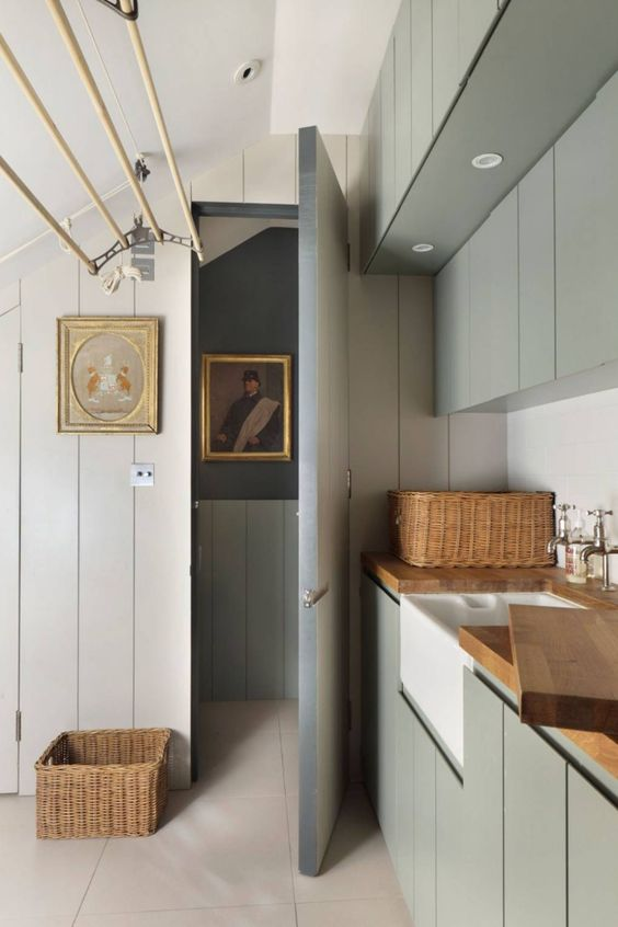 utility room wall panelling