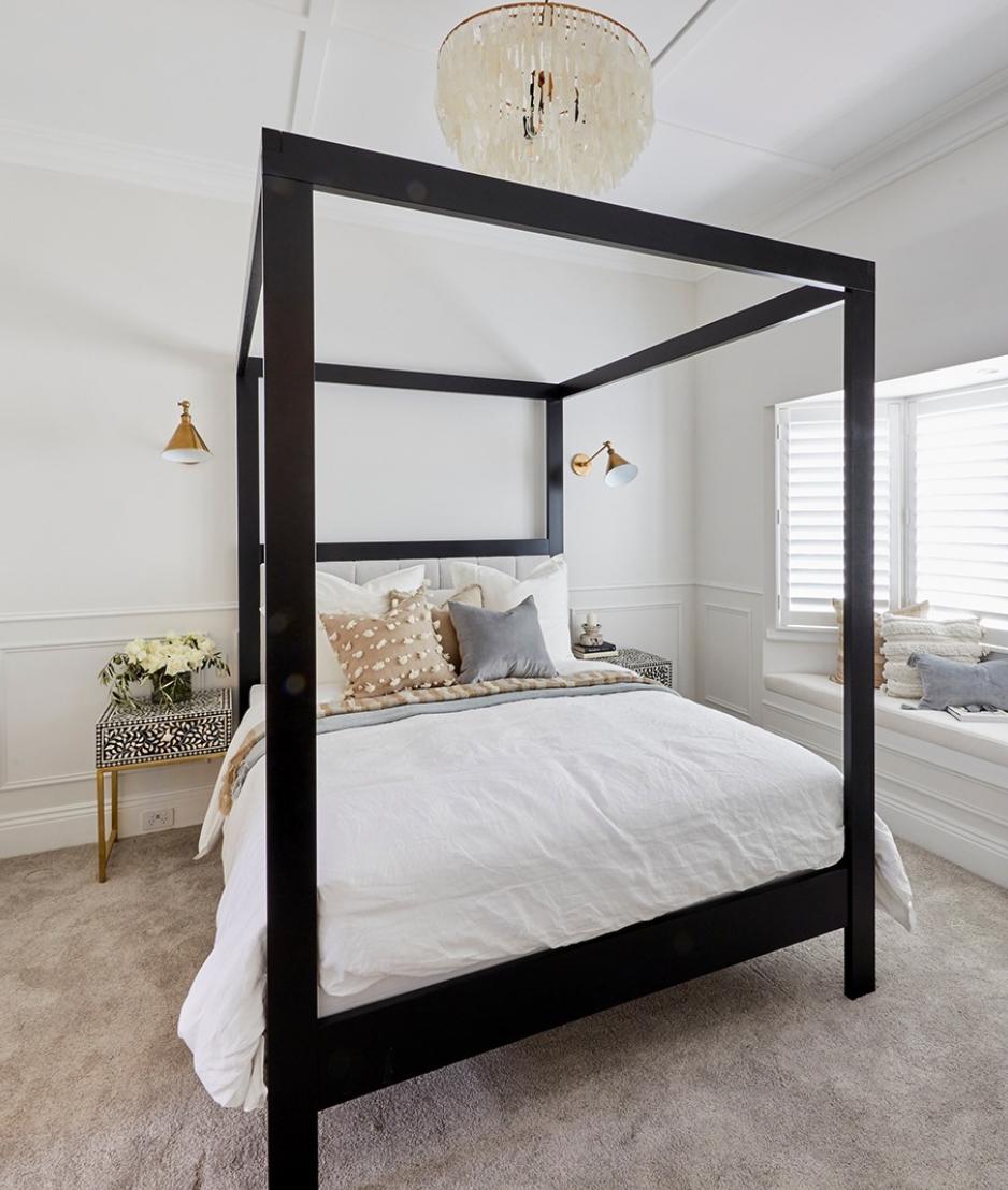 Bedroom bay window ideas