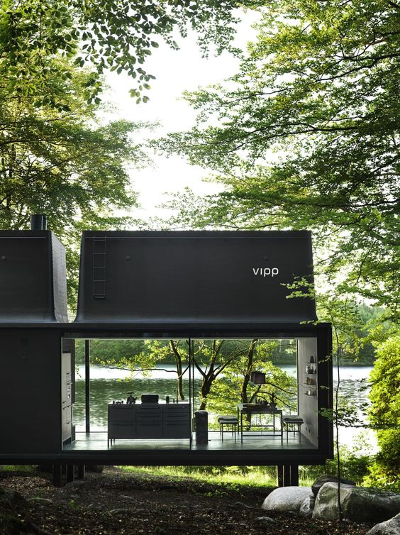 black conservatory