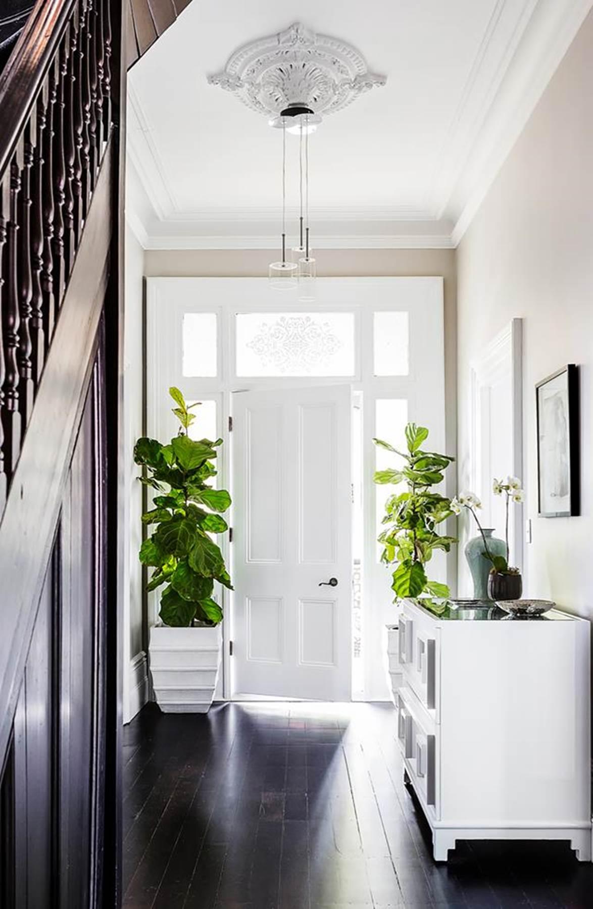 bright white coastal door