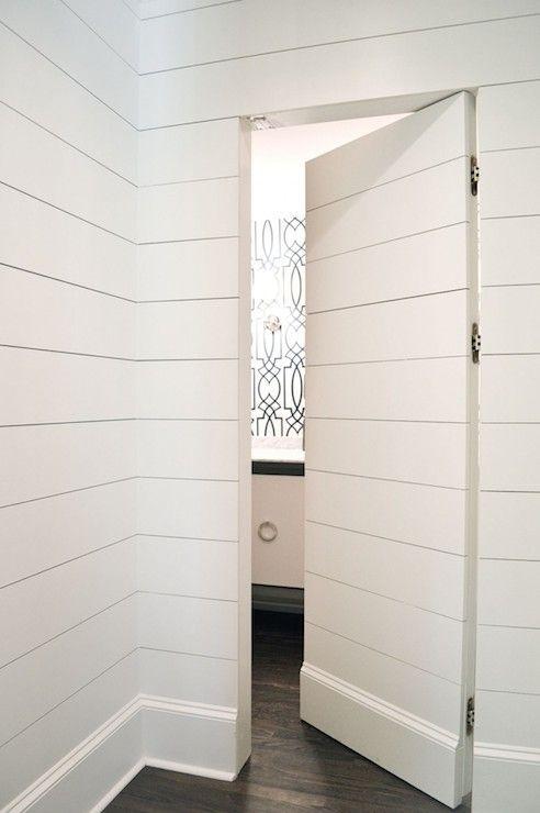 hidden door shiplap