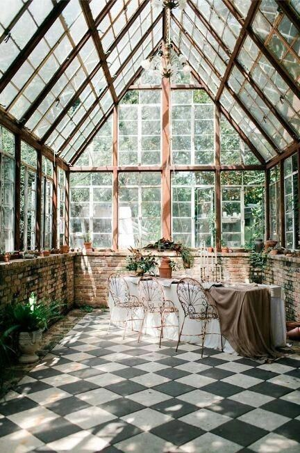 romantic traditional conservatory