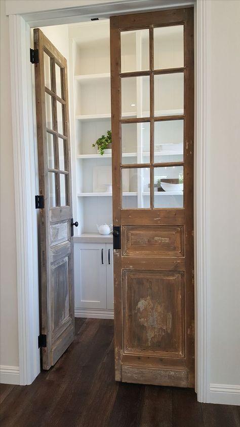 reclaim pantry doors