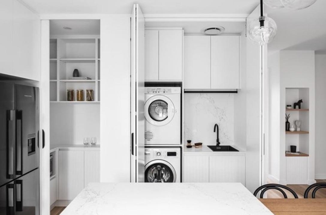 35 Lovely laundry tiles ideas