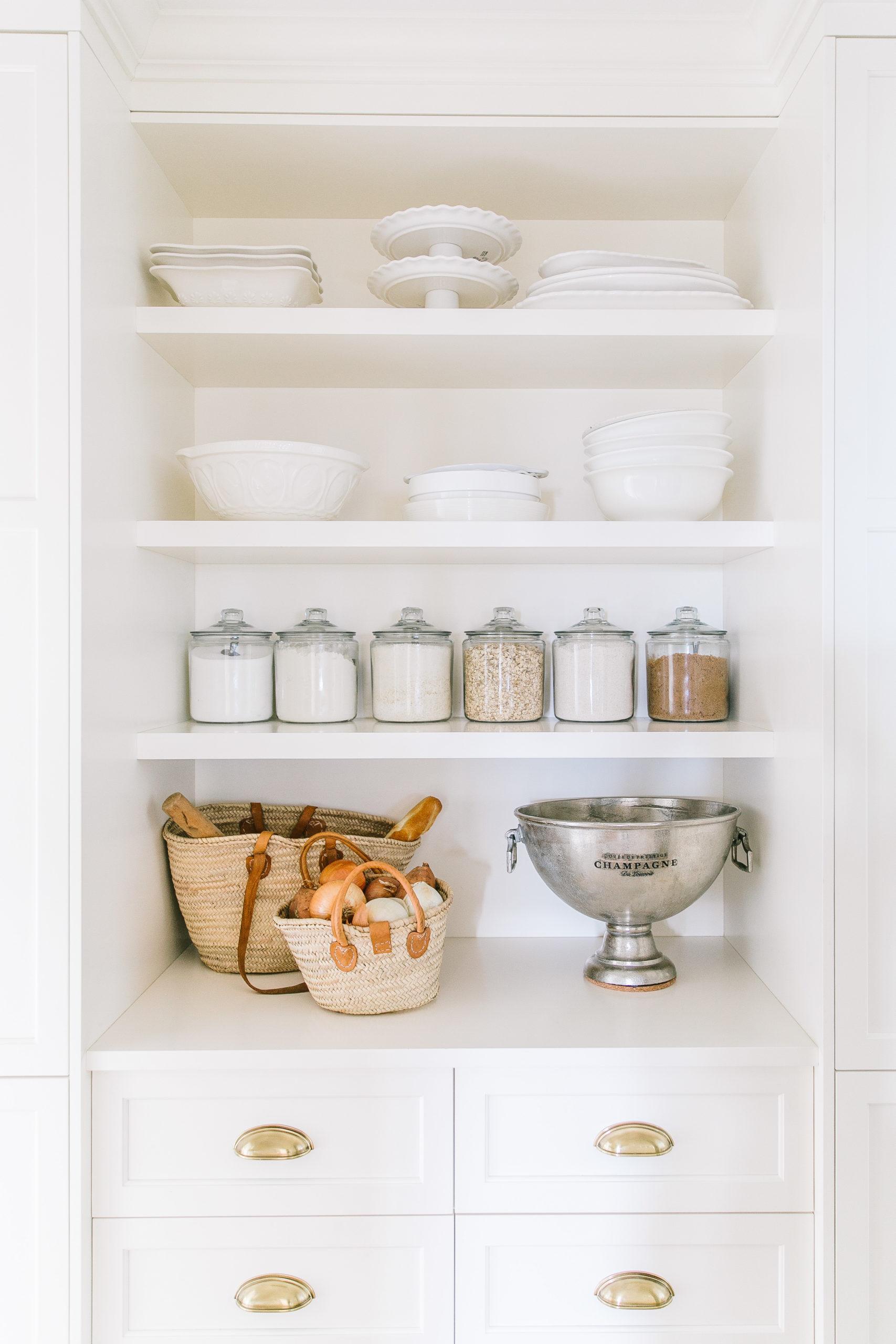 White pantry
