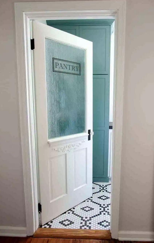 art deco pantry door