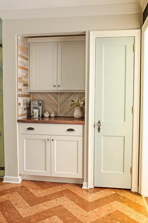 narrow pantry room