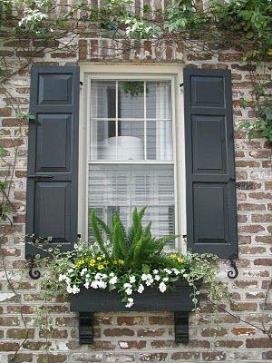 bricks and shutters