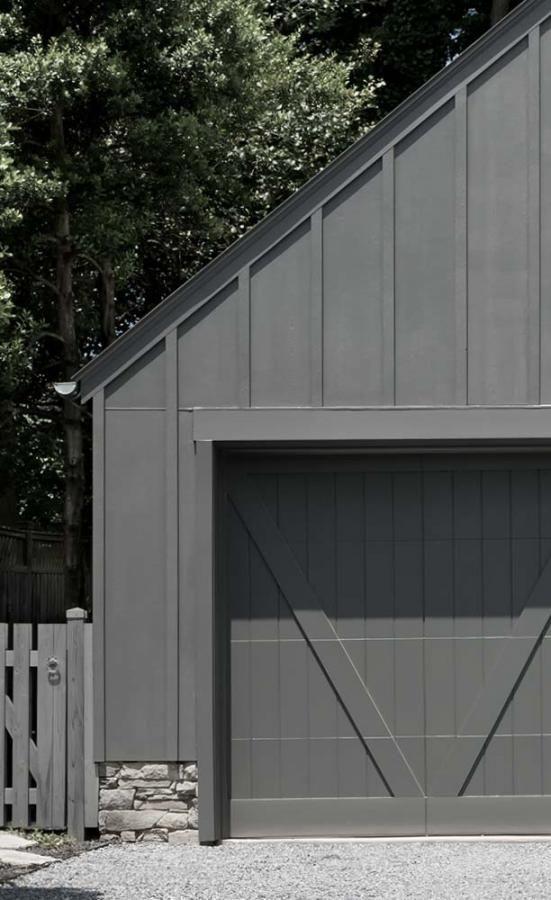 grey garage door ideas