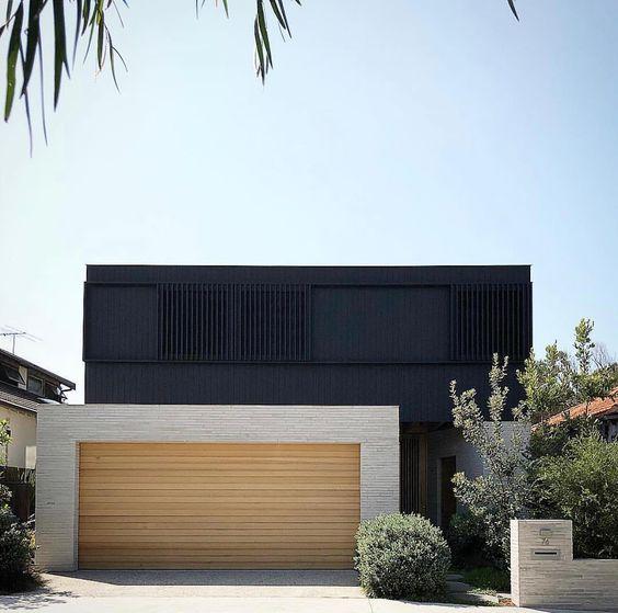 rustic modern garage door ideas
