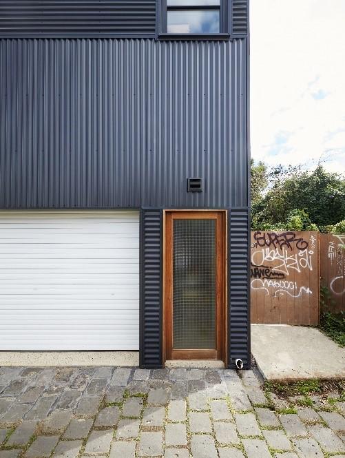 white roller garage door ideas