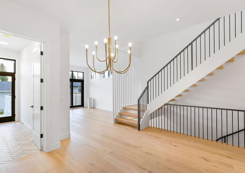 Room divider with stairs