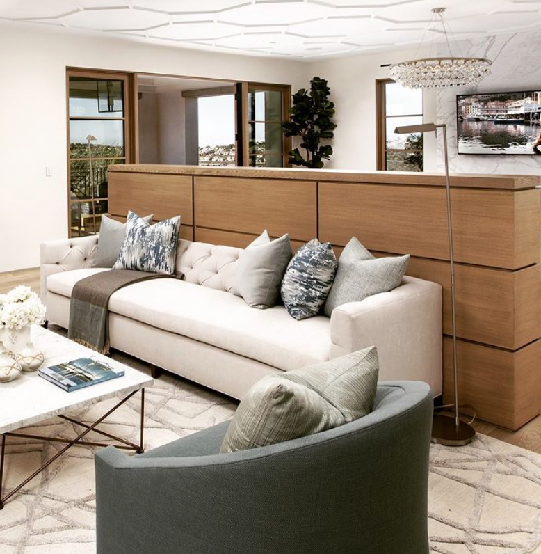 wooden room divider cabinet