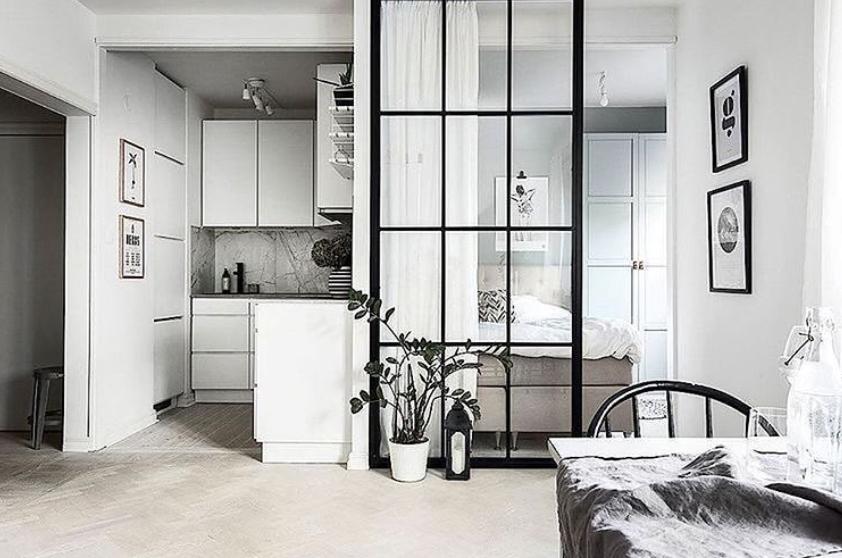 loft style room divider