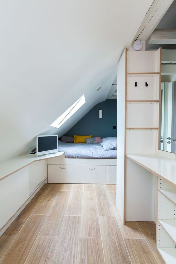 all available space in loft