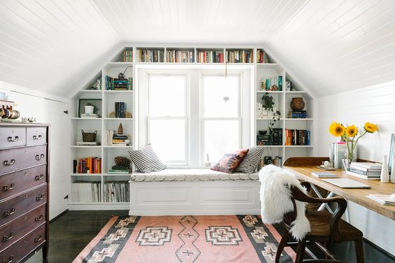 dormer built in storage