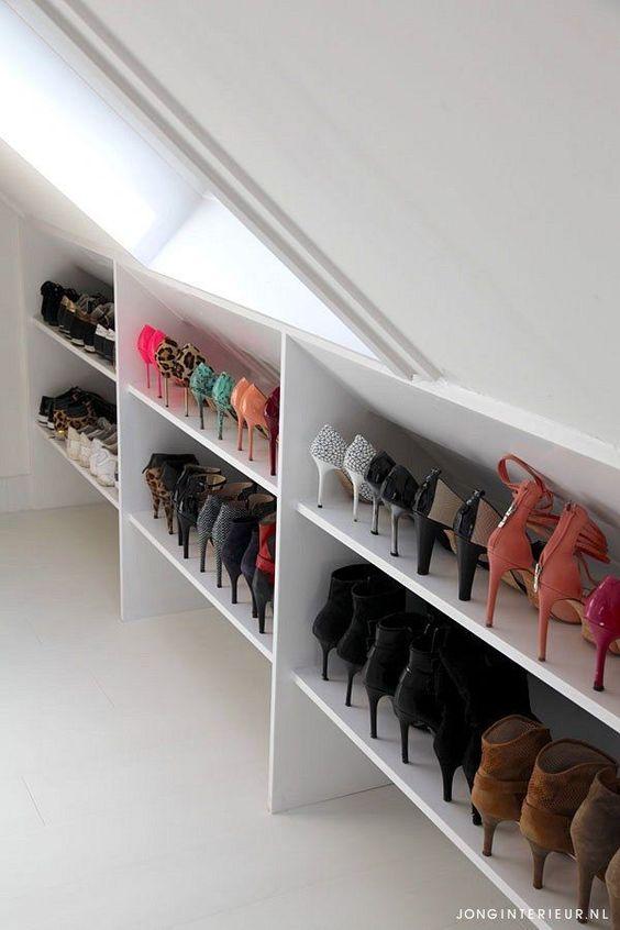 eaves shoe storage