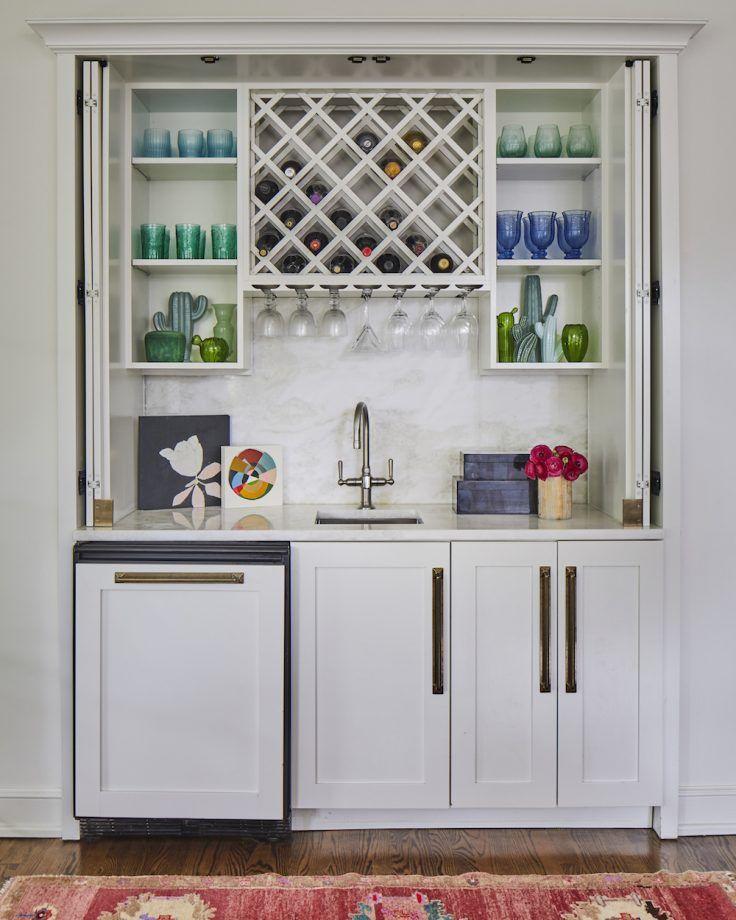 white home bar ideas