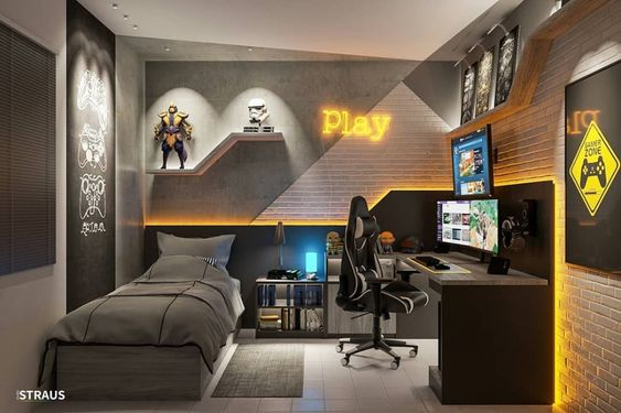 gamer bedroom