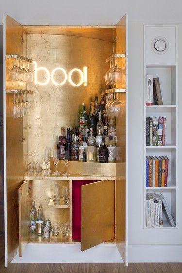 glam secret cabinet bar