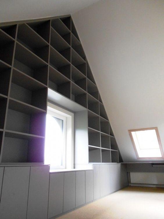 loads of storage in loft