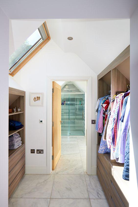 loft dressing room storage