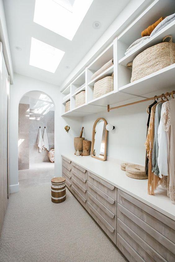 loft walk in wardrobe