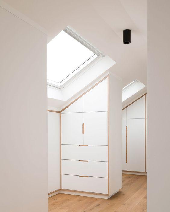 minimalist loft storage