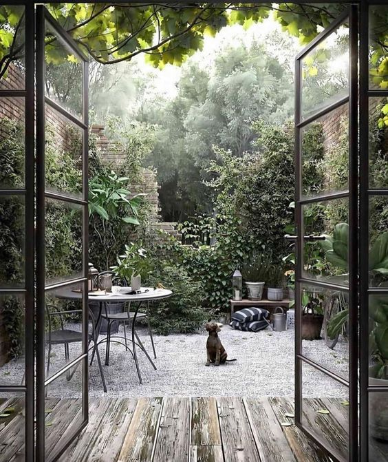 Scandi gravel garden ideas