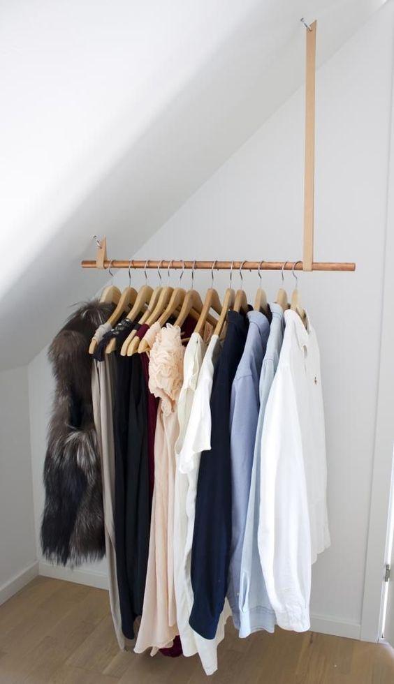 loft storage ideas - racks