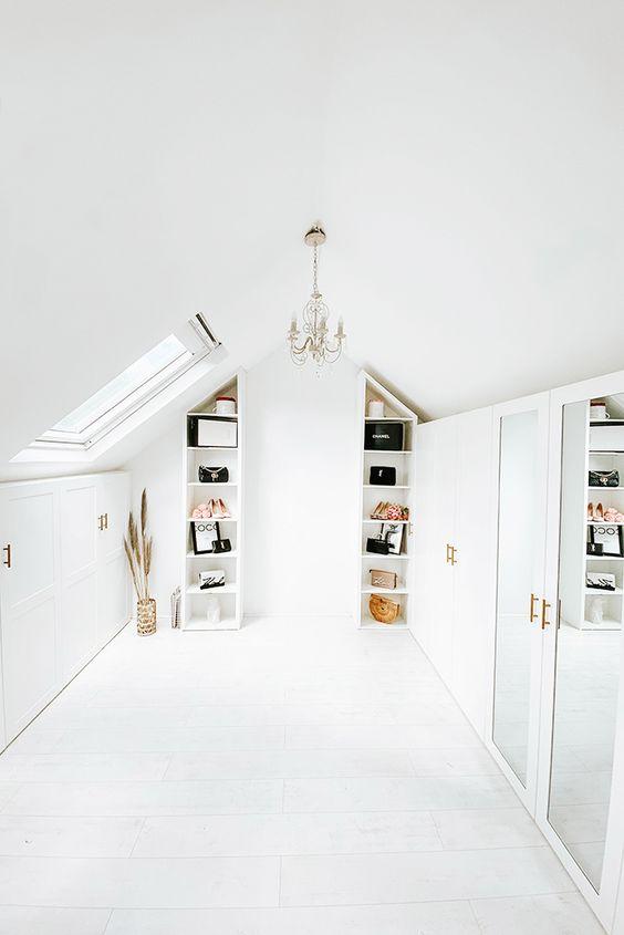 loft walk in wardrobe storage