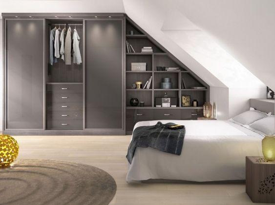 loft storage ideas with built in closet