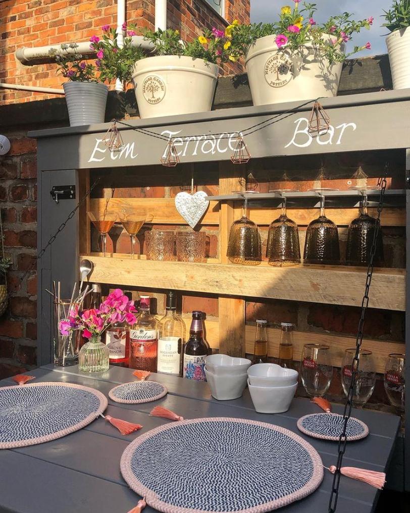 Garden bar ideas