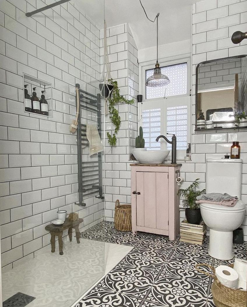 Shower room tiling ideas
