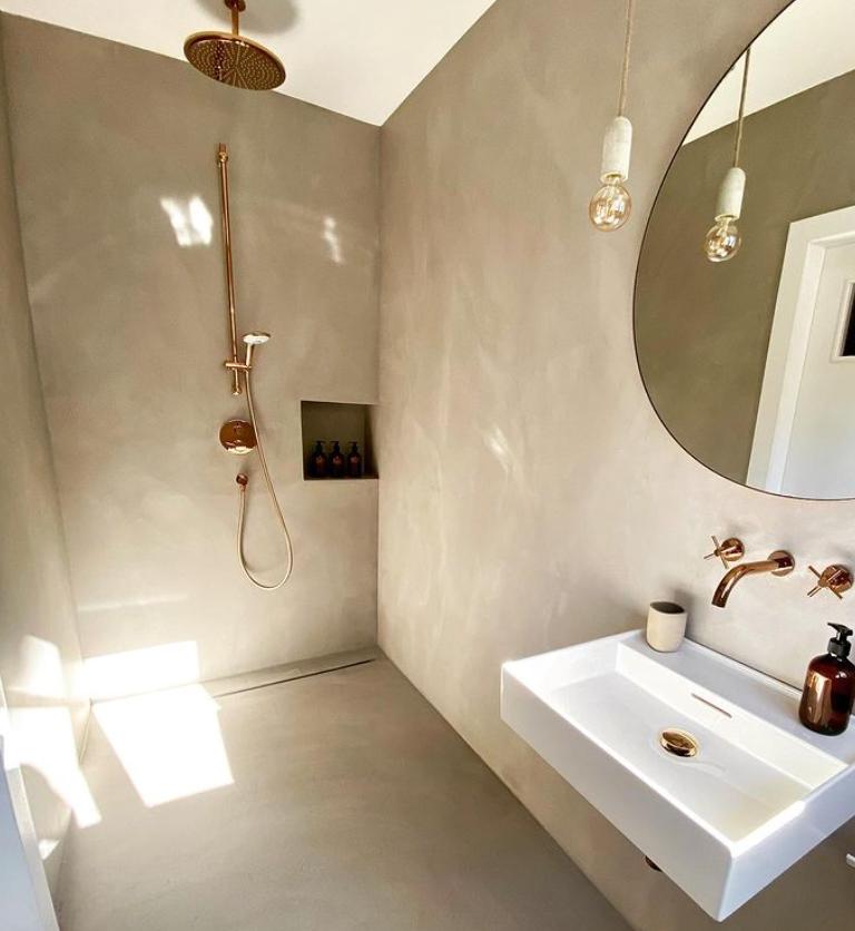 natural bathoom design