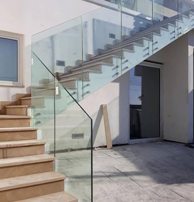 Glass banister ideas
