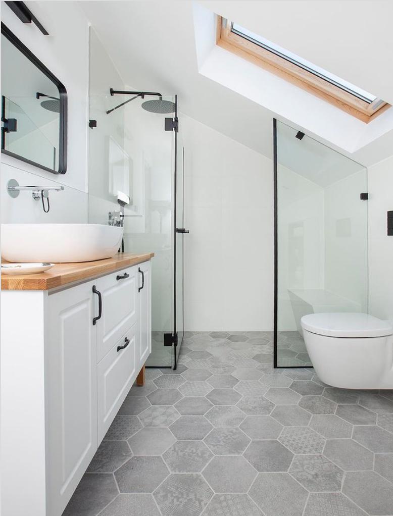 Shower in loft
