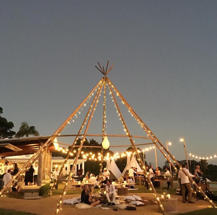 teepee wedding ideas