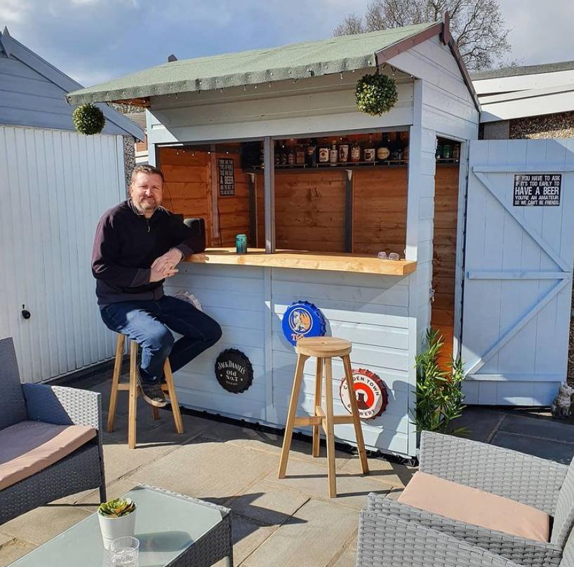 shed conversion bar