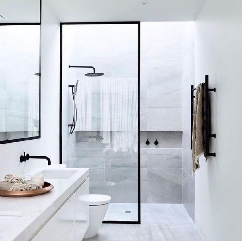 Skylight over shower