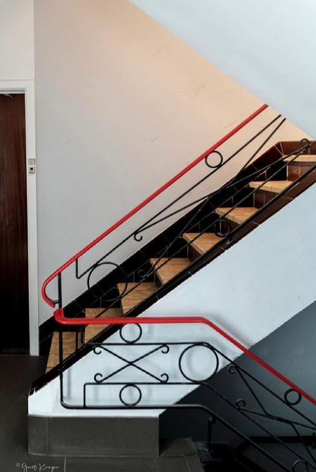 Eccentric banister idea