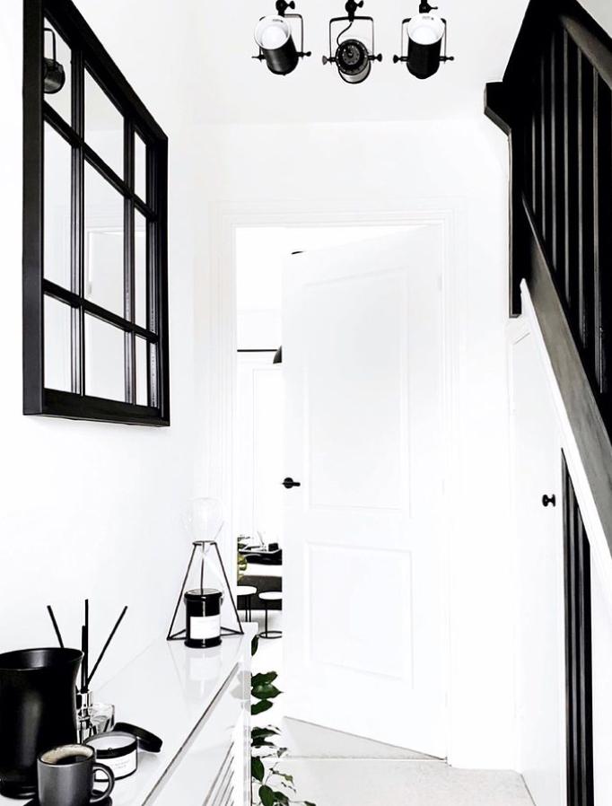 Black banister