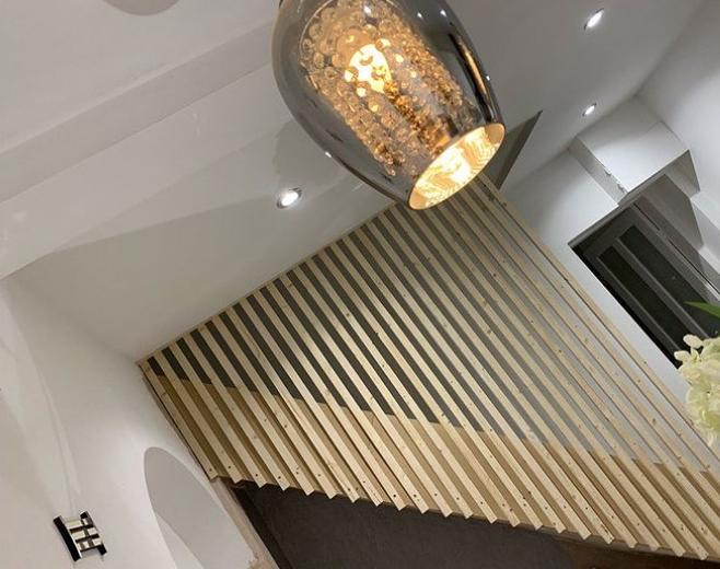 modern banister ideas