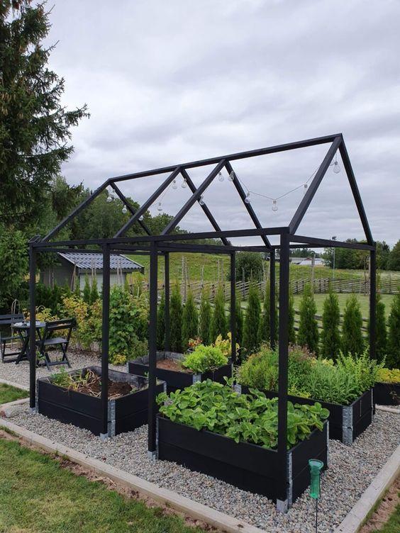 garden structures in allotment