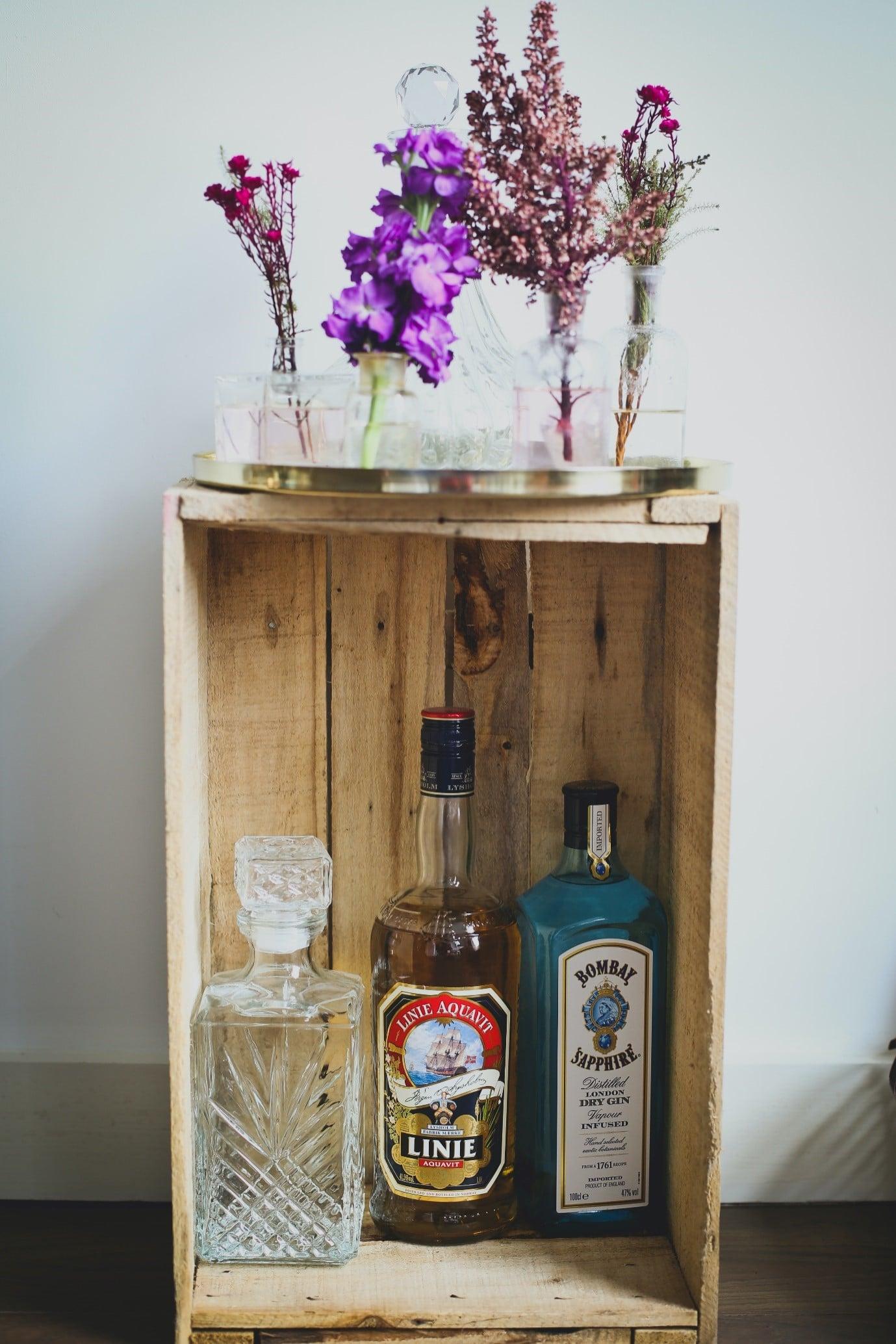 home-bar-DIY-pallet