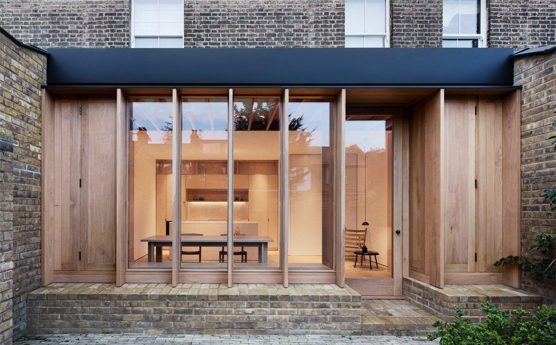 oak and ash kitchen extension